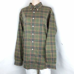 Brooks Brothers 346 Plaid Button Down Shirt